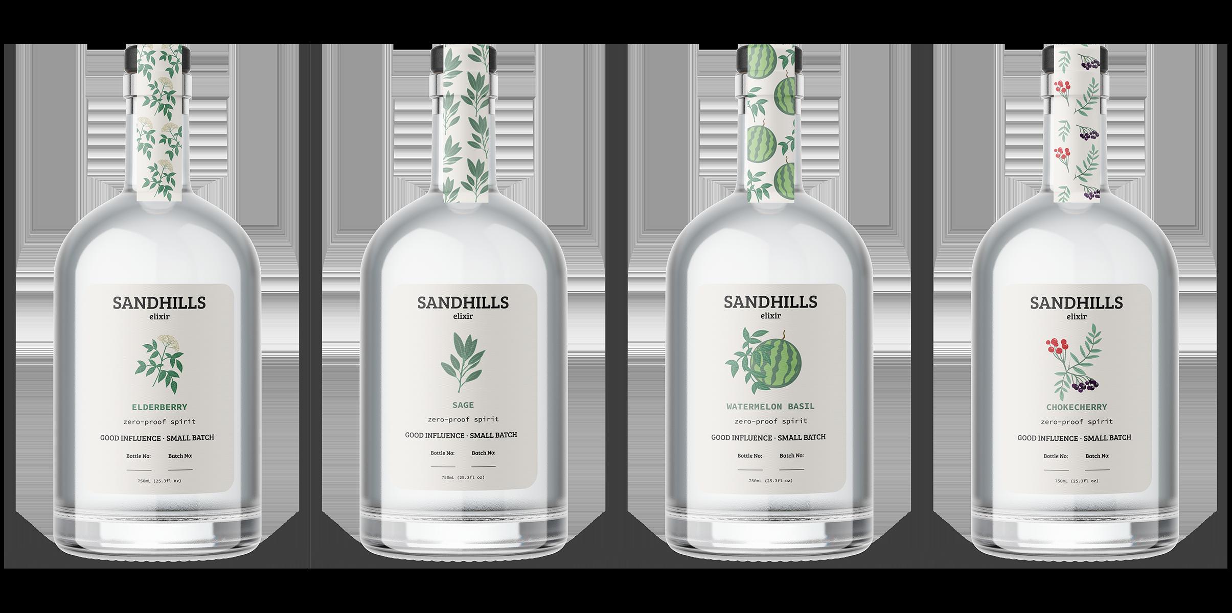 Sandhills Elixir Brand Family